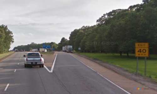 ar i30 arkansas gurdon rest area westbound mile marker 56