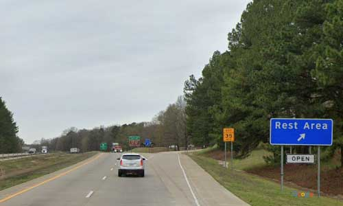 ar i40 arkansas forrest city rest area westbound mile marker 242