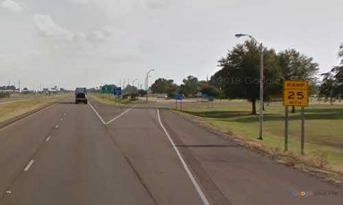 ar i55 arkansas blytheville welcome center southbound mile marker 68